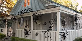 Halloween Blow Up Yard Decorations Canada by Halloween Spiders Giant Spiders Spider Webs U0026 Spider