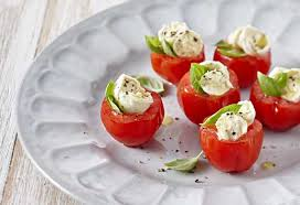 berry canapes berry truss basil and bocconcini canapés recipes