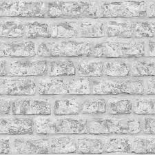 Arthouse Wallpaper Rustic Brick Grey