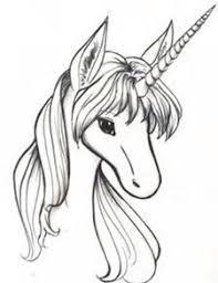 Unicorn Sketch Animal Drawings Art Tips Drawing Pegasus Mythical Creatures Stencil Rainbows Unicorns