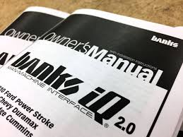 Owners Manuals | Banks Power