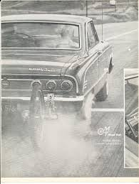 "Motor Trend August, 1963 ""'63 Comet S-22 V-8"" 