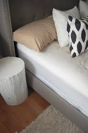 Roma Tufted Wingback Headboard Dimensions by My Tufted Bed A Review Of The Skyline Linen Nail Button Wingback