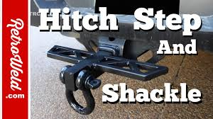 🔴 Trailer Hitch Build With A Shackle & Step For My Truck - YouTube