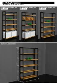 Custom Made Display Furniture Retail Clothing Store Wall Racks For