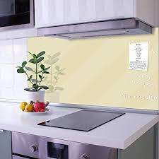banjado glas nischenrückwand für küche 100cm x 50cm
