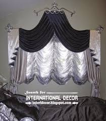 Swag Curtains For Living Room by Silver And Black Swag Curtains French Bedroom Curtains 2015