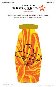 Barn Jams 2010 – Present | Gil Shuler Graphic Design Barn Jam Wed July 13 6pm Gil Shuler Graphic Design Jan 24 Feb 8 Apr 27 Aug 3 Barnjam2310 The Big Red Barn Jam April 19 Jan18 Oct At Awendaw Swee Outpost Charleston Events Pinterest David Gilmour Richard Wright Youtube