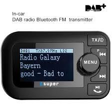 new high tech 2 3 inch lcd screen dab raeceiver bt4 2 fm transmitter car bluetooth kit presets 60 stations buy car bluetooth car