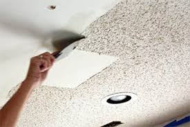 is a popcorn ceiling dangerous