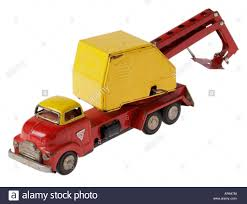 Structo Antique Toy Truck Stock Photo, Royalty Free Image ... 1950s Structo Hydraulic Toy Dump Truck Vintage Nice Yellow Toy Truckgreen Trailer Yellow Steam Shovel Farms Cattle Hauler Steel Trailer Light 992 Vintage Grnuploweredga Structo Toys Freight Hauler Truck Fire Engine Ardiafm Hap Moore Antiques Auctions Lot Of 2 Machinery Steam Shovel Pressed Steel Hydraulic Dumper 401 Red Cab Yellow Toys R Us Pressed