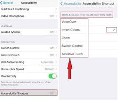 How Enable and Use Accessibility Shortcut on iPhone iOS 11 iOS 10