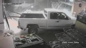 100 Truck Crashes Caught On Tape Crashes Into Store Drives Away With ATM In Brazen Theft