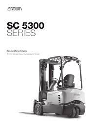 Electric Forklift 3-Wheel, SC 5300 - CROWN - PDF Catalogue ... Cat Diesel Powered Forklift Trucks Dp100160n The Paramount Used 2015 Yale Erc060vg In Menomonee Falls Wi Wisconsin Lift Truck Corp Competitors Revenue And Employees Owler Mtaing Coolant Levels Prolift Equipment Forklifts Rent Material Sales Manual Hand Pallet Jacks By Il Forklift Repair Railcar Mover Material Handling Wi Contact Exchange We Are Your 1 Source For Unicarriers