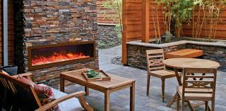 Outdoor Electric Fireplaces We Love Fireplaces and Grills