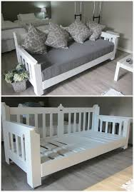 Daybed Made From Pallets Day Bed Furniture And 1001 4 DIY Tutorial