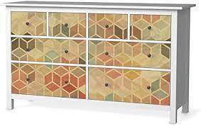 creatisto möbeltattoo passend für ikea hemnes kommode 8 schubladen i möbeldekoration möbel aufkleber folie i deko diy für schlafzimmer