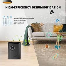 luftentfeuchter elektrisch 1200ml geringer energieverbrauch reinigungsfunktion auto timer gegen feuchtigkeit und schimmel für badezimmer küche