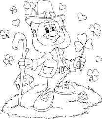 Inspirational Leprechaun Coloring Page 85 In Pages For Kids Online With