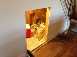 Dog Stairs For Tall Beds by Diy Dog House Under The Stairs Tutorial The Rodimels Family Blog