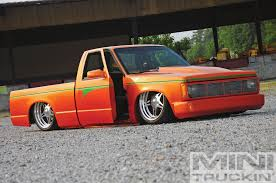 100 1986 Chevy Trucks For Sale S10 Experiment Orange Mini Truckin Magazine