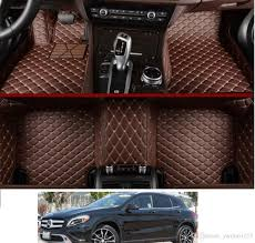 Anti-slip Leather XPE 5D Car Mats For 2017 Benz GLA 250 Base 4MATIC ... 5 Types Of Floor Mats For Your Car New Auto Custom Design Suv Truck Seat Covers Set So Best Ever Aka Liner Anthonyj350 Youtube Ford Floor Mats For Trucks Amazoncom 3d In India Benefits Prices Top Brands Faqs On 14 Rubber Of 2018 Halfords Advice Centre Personalised Service 13 And Why You Need Them Autoguidecom Allweather All Season Fxible Rubber