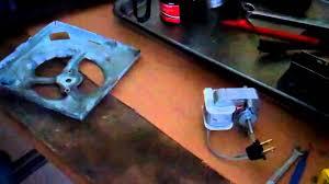 Fasco Bathroom Exhaust Fan Motor by Replacing A Broan Ventilation Fan Motor Youtube