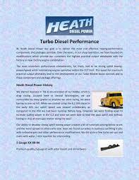 100 Diesel Performance Trucks Turbo Diesel Performance By Heath Issuu