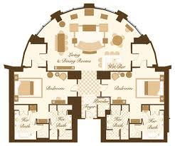 Mandalay Bay Vista Suite Floor Plan by Las Vegas Suite Bellagio Hotel Las Vegas Floorplans I Love