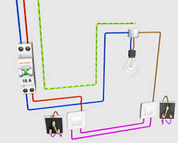 le va et vient schema electrique va et vient électrique schéma