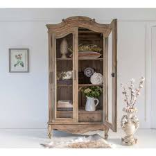 Chateauneuf Rustic Wood French Armoire