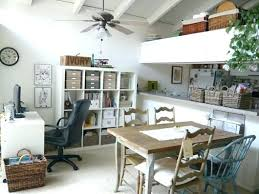 Dining Room Home Office Combo Eclectic