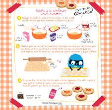recette de cuisine pour les enfants recettes sablés confiture découvrir atelier et enfants