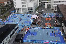 terrain de basket exterieur installations de basket outdoor adec sport