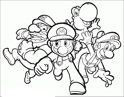 Coloriage Mario Et Sonic Aux Jeux Olympiques D39hiver