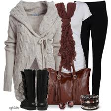 Cute Winter Outfits With Black Leggings 19 Of 133