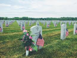 memorial day graveside decorations lincoln cemetery decorated ahead of memorial day
