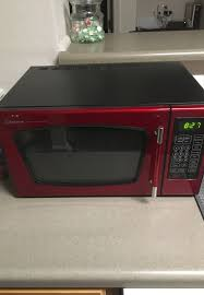 Red Emerson Microwave For Sale In Evansville IN