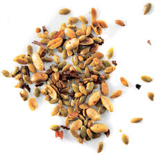 Are Pepitas Pumpkin Seeds Good For You by Chile Peanut And Pumpkin Seed Snack Mix Recipe Epicurious Com