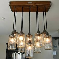 Mason Jar Light Fixtures Medium Size Of Valley Lighting Kitchen Kit