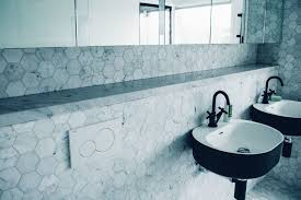 matte black bathroom contemporary with grey marble modern multiuse