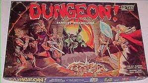 Dungeon Board Game By TSR