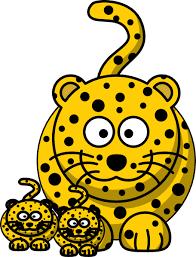 Leopard Baby Clip Art Clip Art at Clker vector clip art