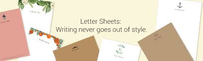 Letter Papers Letter Writing Paper