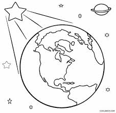 God Created Earth Coloring Pages