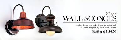 Rustic Wall Sconce Lighting Sconces These Barn Style Will Give Any Room
