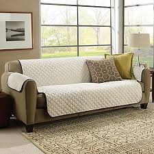 World Market Luxe Sofa Slipcover Charcoal by Sofa Slipcovers Couch Covers And Furniture Throws Bed Bath U0026 Beyond
