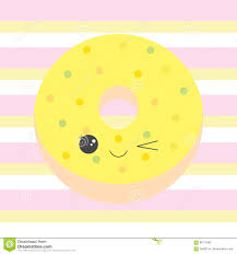 Baby Illustration With Cute Donuts Clipart Yellow Image Free