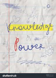 Motivational Poster For College Students Crumpled Notebook Paper Motivation Quote About Knowledge And Education