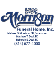 Morrison Funeral Home Flowers & Planning Services in Oil City PA